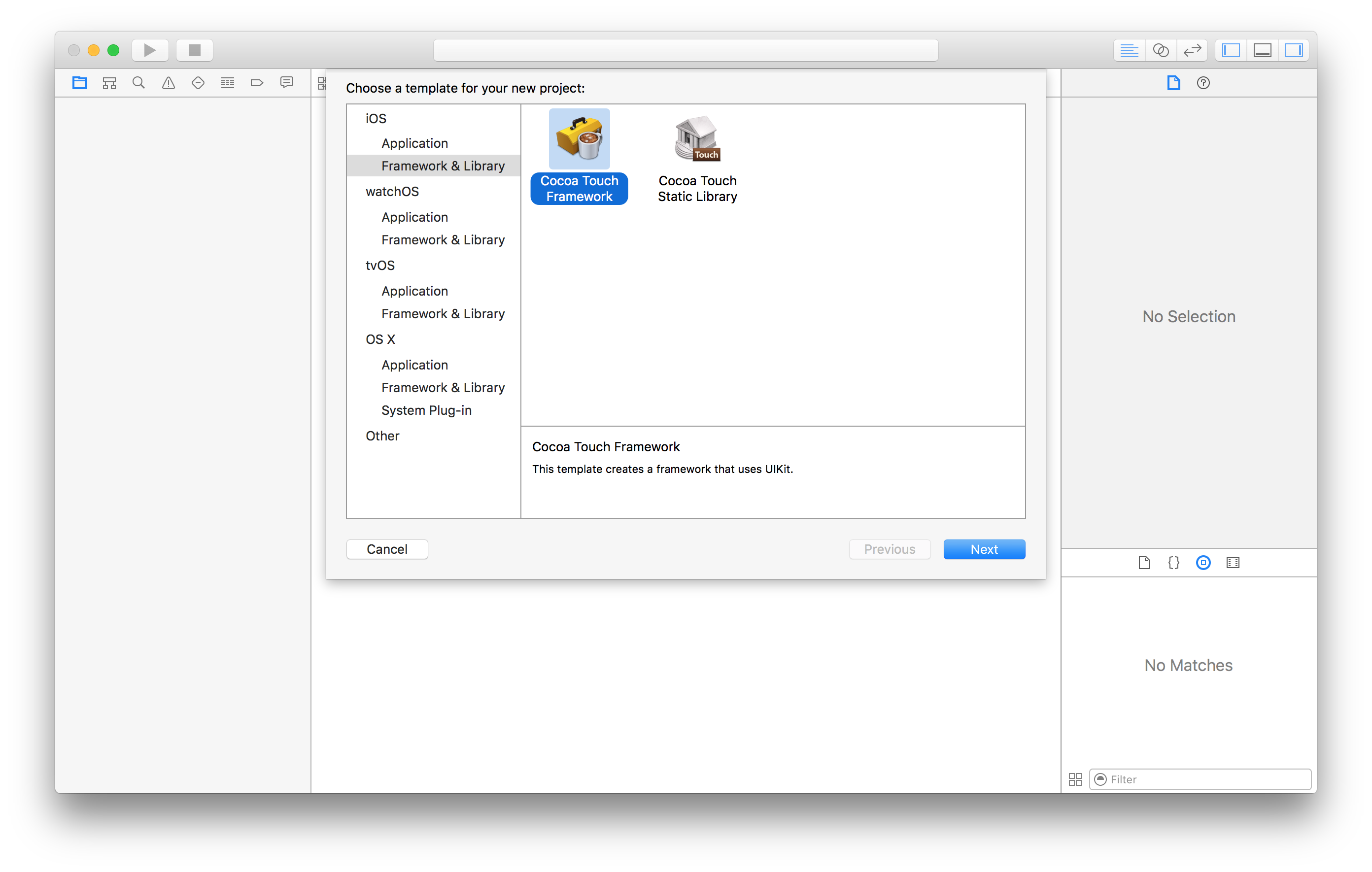 Creating Swift frameworks for iOS, OS X and tvOS with Unit